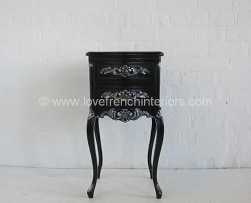 Louis XV Tall 2 Drawer Bespoke Bedside